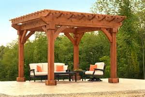 Wood Pergolas cedar wood pergola ohio hardwood furniture
