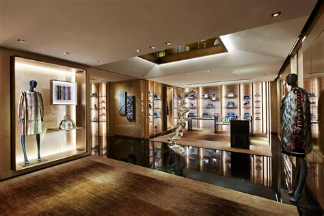 Creative Rugs new fendi flagship store opens at 51 avenue montaigne
