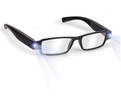 12 for a pair of led magnifying reading glasses buytopia