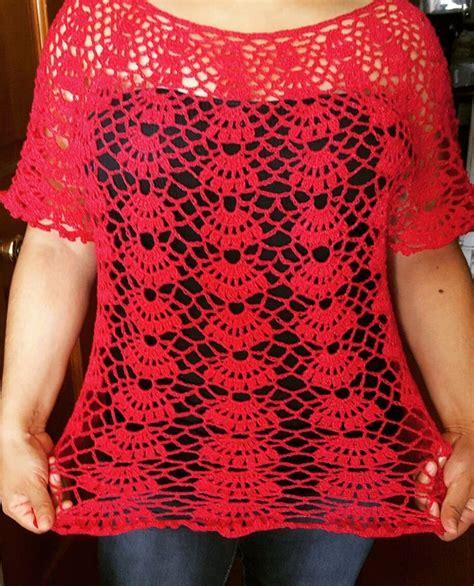blusa en crochet ganchillo de abanicos parte 1 17 mejores ideas sobre patrones de blusas modernas en