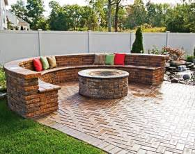 Outdoor Patio Firepit Best Outdoor Pit Seating Ideas Designrulz