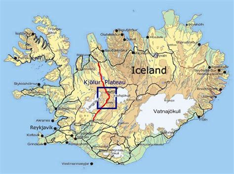 printable road map iceland iceland road map pdf www pixshark com images galleries