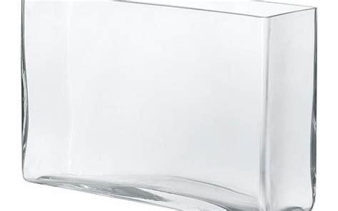 vaso vetro rettangolare noleggio eventi vaso vetro