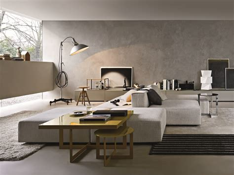 Living Room C by Sectional Modular Sofa Freestyle By Molteni C Design