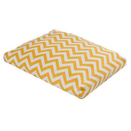 zig zag pattern on dog s tail zig zag rectangle dog bed in yellow tom s luxuries