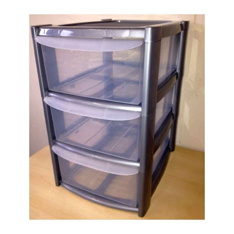 Plastic Storage Box Drawers by Plastic Containers With Drawers Sterilite Clearview 3