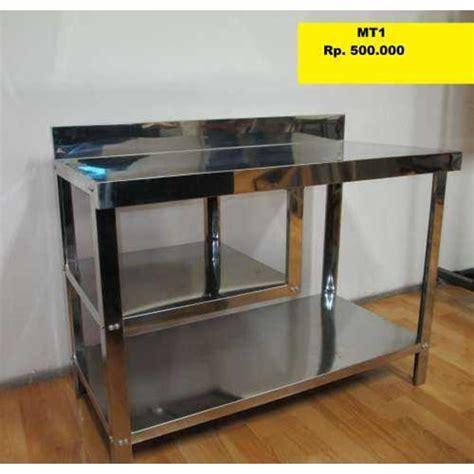 Sofa Meja Rias Tatakan Galon jual metalco meja kompor gas stainless steel oleh