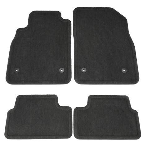 chevrolet cruze floor mats 2014 cruze floor mats molded carpet jet black 95229923