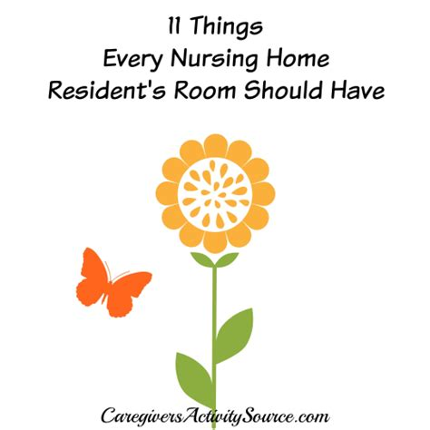 things every house should have 11 things every nursing home resident s room should have