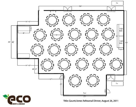 event table layout wedding and event floor plan diagrams eco event and designs