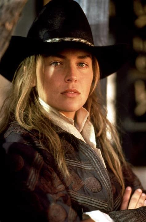 western film heroines sharon stone hats pinterest the dead sharon stone