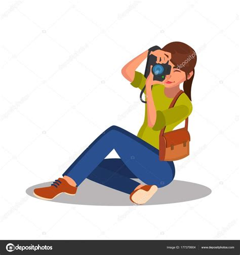 paparazzi clipart photographer vector photographic reporter