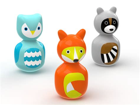 Playhouse Dwell Com by Wobble Animal Friends Curatedkiddo
