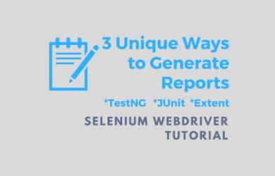 tutorial php webdriver implement reporting in selenium archives python java