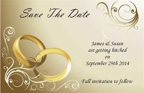 save the date wedding card templates free design save the date wedding cards self