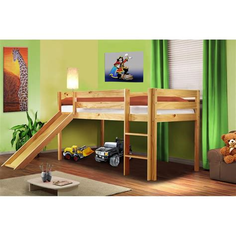 letto a soppalco con scivolo letto rialzato letto a soppalco per bambini con scivolo