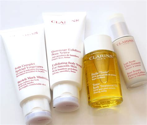 Clarins Makeup pregnantladythangs tum bum and bust maintenance with
