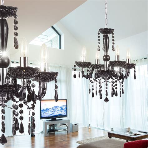 Wohnzimmer Luster by Eleganter Kronleuchter Mit Led Leuchtmittel Len M 246 Bel