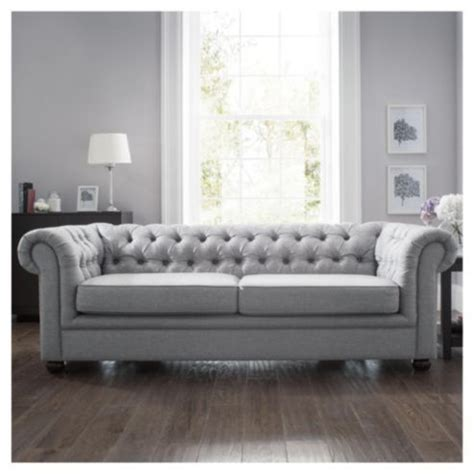 Chesterfield Fabric Sofa Bed by Buy Chesterfield Fabric Sofa Bed Silver Linen From Our