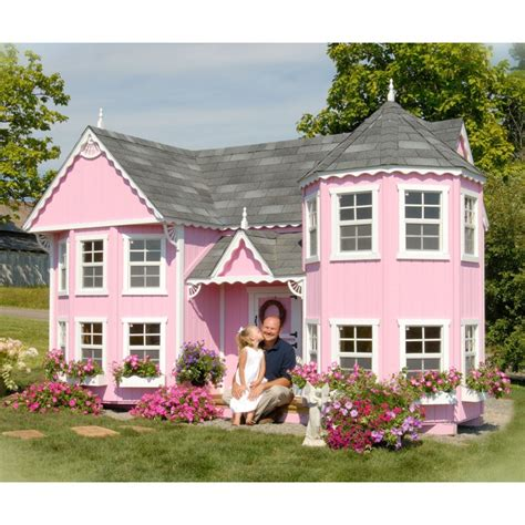 backyard playhouse kits outdoor playhouse for 5 year old 187 all for the garden