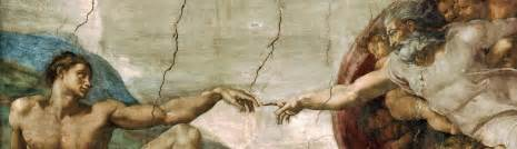 Creation of adam michelangelo jpg