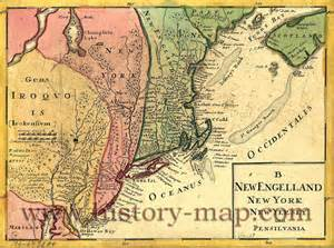 Map Of New York Colony by New York 13 Colonies Market Analysis