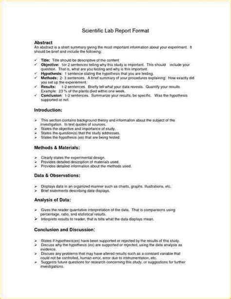 Chemistry Lab Report Format by Ap Bio Lab Report Format Business Templated