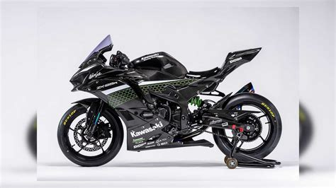 kawasaki release  race spec carbon zx  pictures