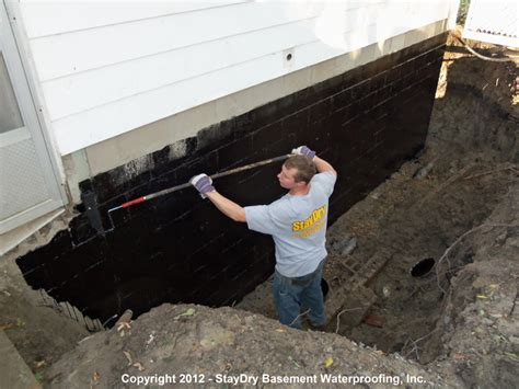 water proofing a basement arbor basement waterproofing staydry 174 michigan