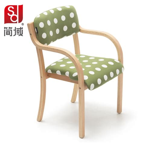 single wooden dining chair dining chair study chair single upholstered armchair