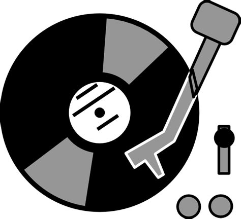 Record Player Clipart record player clip at clker vector clip royalty free domain