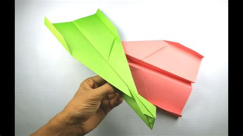how to make a best paper airplane that fly far away