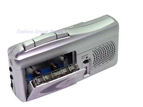 micro cassette player micro cassette recorder voice activated speaker dictaphone