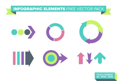 design elements vector pack infographic elements free vector pack download free