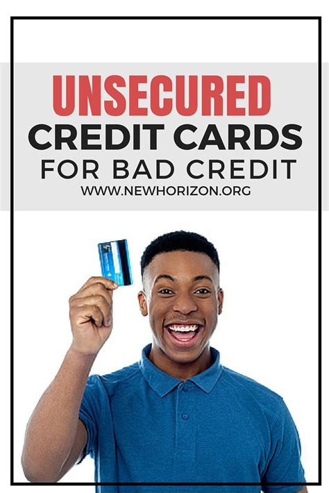 credit cards for bad credit or bankruptcy
