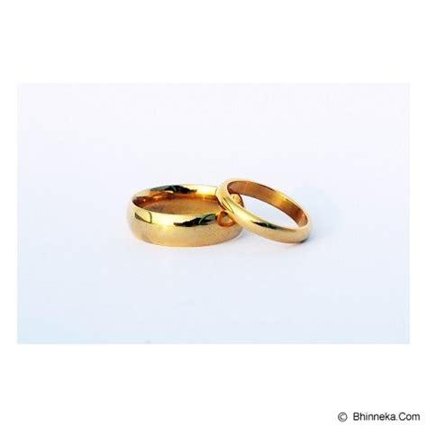Cincin Titanium Size 6 jual titanium cincin size 5 w 8 m cc025 murah bhinneka
