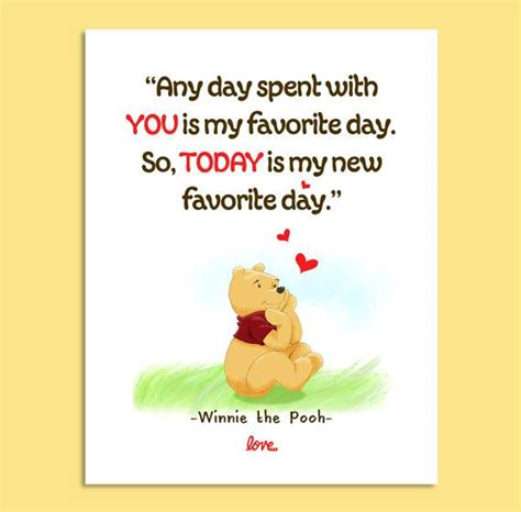 printable pooh quotes printable winnie the pooh wall quote 8x10 today is my