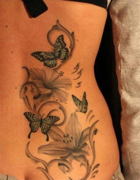 imagenes de mariposas y flores para tatuajes flores y mariposas tatuajes para mujeres