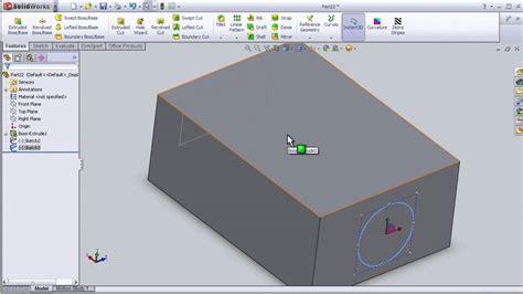 lofted sheet metal solidworks 14 solidworks beginner tutorial lofted cut