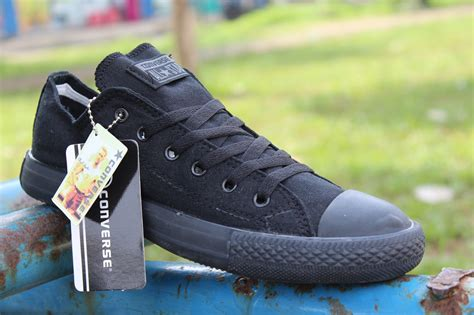 Sepatu All Hitam Murah harga sepatu converse all hitam grade ori id