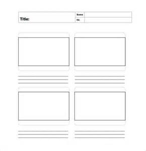 free storyboard templates for word sle free storyboard 22 documents in pdf