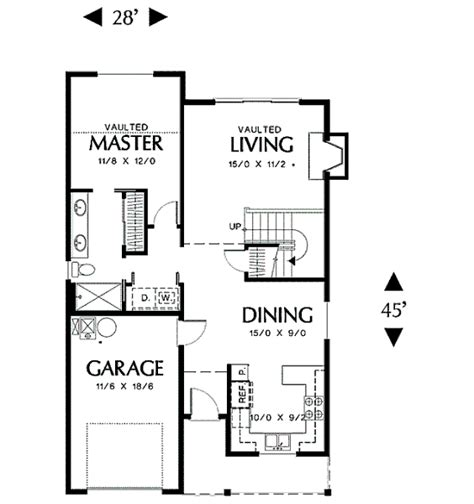 Mother In Law Suite Plans by Plano De Casa De 4 Habitaciones En Dos Plantas