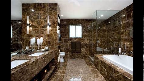 Bathroom Feature Tile Ideas by Italian Marble Bathroom Designs Youtube