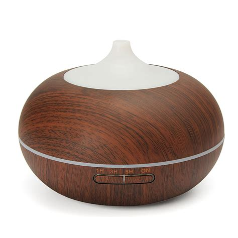 H02 Essential Aromatherapy Diffuser 7 Colors Led 300ml 300ml color changing led ultrasonic humidifier essential