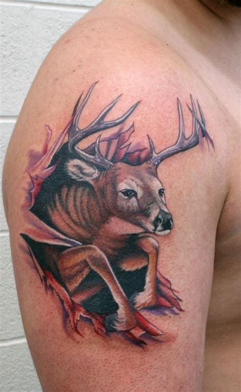 amazing torn ripped skin tattoos