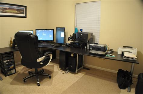 home office gaming setup workstation setupsworkstation