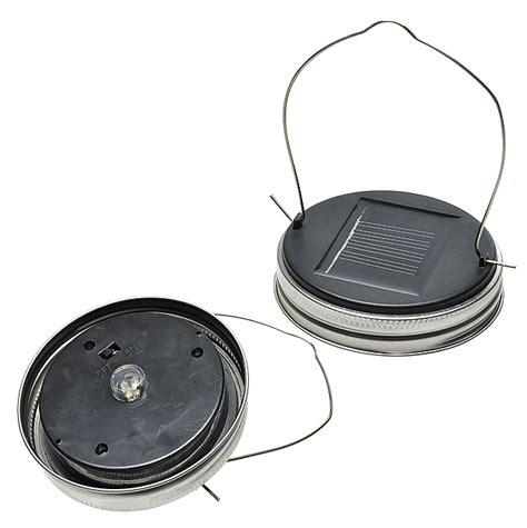 solar lid light wholesale solar powered jar lid lid only
