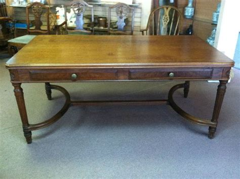 Davis Conference Tables Antique Stow Davis 2 Drawer Conference Table Or Desk Or Library Table Ca 1920 Stowdavis