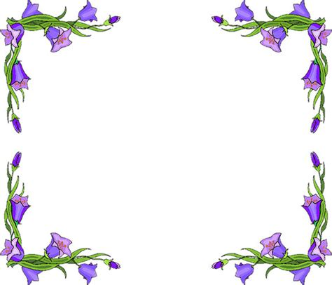 Clipart Flower Borders And Frames free flower borders flower border clipart