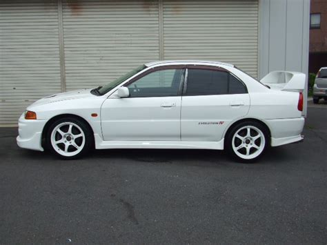 mitsubishi lancer evolution gsr 4 japan japanese used car